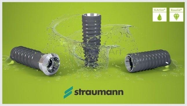 Implante dentário SLActive – Tecnologia Straumann ITI